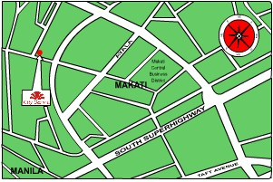 City Garden Hotel Makati Map TravelSmartNET