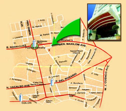 Holiday Plaza Hotel - Map -TravelSmart.NET