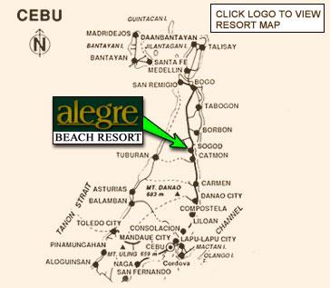 Alegre Beach Resort Map Travelsmart Net