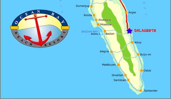Ocean Bay Beach Resort - Map - TravelSmart.NET